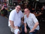 With David Puckett in Taiwan